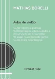 Título do anúncio: Aulas de música