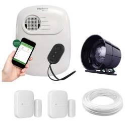 Alarme com 3 sensores (1 de abertura , 2 de presença)
