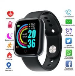Relógio pulseira inteligente Y68 promoção apenas 59,00