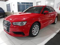 audi a3 1.4 sedan tfsi attractions s-tronic automático 7 marchas couro multimídia roda