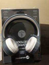 Headphone GT GOLDENTEC  estado de novo na caixa