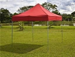 Tenda Sanfonada 2x2 Vermelho [ProntaEntrega]