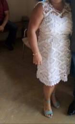Vendo  vestido de noiva para casamento no cívil
