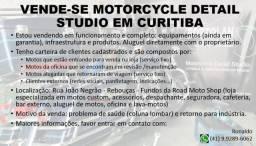 Vende-se studio lavagem e estética de motos