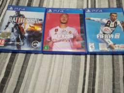 FIFA 20,19 Battlefield PS4
