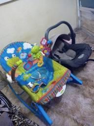 Título do anúncio: Cadeirinha e bebê conforto