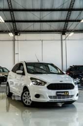 Ford - Ka SE 1.0 Flex 2015 Completo Branco