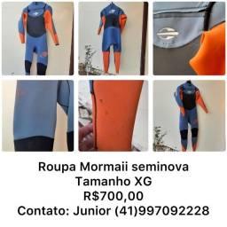 "Roupa de Borracha Surf Mormaii Seminova XG 3'2"""