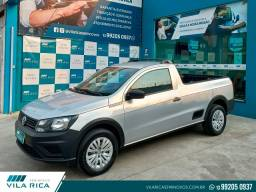 Título do anúncio: Volkswagen Saveiro 1.6 Msi Robust CS 8v Flex 2p Manual Completa 2019
