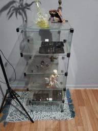 Expositor de vidro