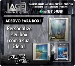 Adesivo Lona Faixa Banner Cartão de Visita Panfleto Entrega e Arte gratis em RP