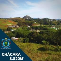 Chácara 8.820m² a 5 minutos do centro de Caxambu-MG