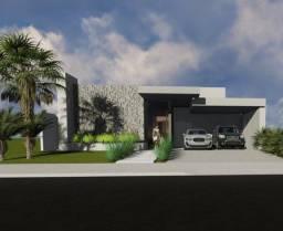 Condomínio Florais da Mata Várzea Grande, Casa Térrea com 3 Suítes á venda