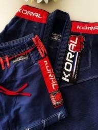 Kimono Koral MKM competition A3 azul marinho
