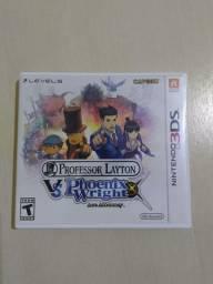 Jogo Professor Layton vs Phoenix Wright Ace Attorney (3DS) (Usado)