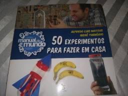 Livro manual do mundo 50 experimentos