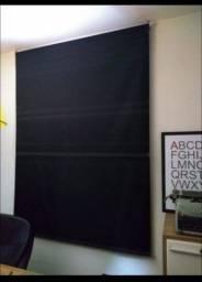 Título do anúncio: Persiana blackout preta de pano