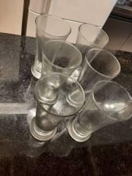 Conjunto 6 copos de vidro