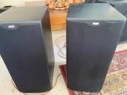 Par De Caixas Acústicas Dm-602 S2 B&w Bowers Wilkins