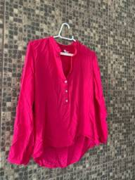 Blusa rosa pink