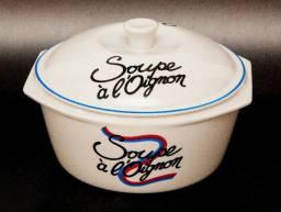 Título do anúncio: Sopeira Soupe à l'oignom Porcelana Real Colorama
