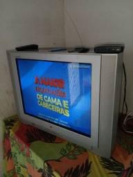 TV LG 29 polegadas + conversor digital