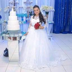 Título do anúncio: Vestido Noiva.