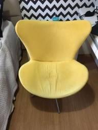 Cadeira Egg giratória