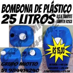 Bombona 25 Litros Com Alça de plástico 25 Litros