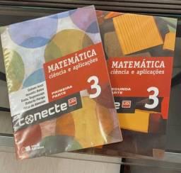 Box de livros Conecte Matemática 3 e ciência e aplicações