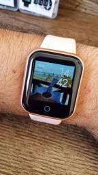Smartwatch D20 Y68 Atualizado 2021 com 55 Watch Faces e Foto na tela