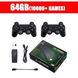 Game Stick Lite 4K 64gb +10000 jogos