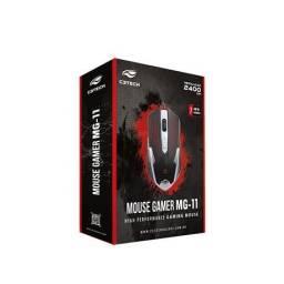 Mouse C3Tech Gamer MG-11 BSI Preto/Prata