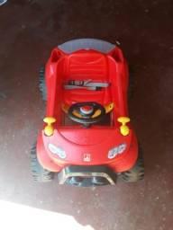 Carro vermelho Smart Bandeirantes seminovo perfeito estado
