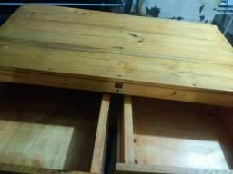 Comoda multiuso de madeira