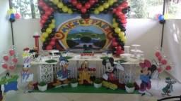 Casa de decoração de festas