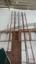 Colunas de ferro 3/8 4 metros