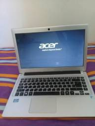 """Not book acer core i3 """" impecável """""""