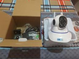 Câmera robô 3 antenas 360graus instalada aceito cartão crédito