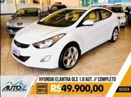 Hyundai Elantra GLS 1.8 Automático Completo - 2013