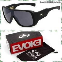 Óculos Evoke Amplifier Play it Louder (Armação preto fosco/Lente preta)