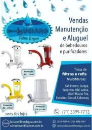 Purificadores Filtro Bebedouro Refil de Agua Natural de Varias Marcas