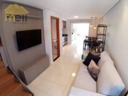 Sobrado com 2 dormitórios à venda, 60 m² - Jardim Santa Fé - Presidente Prudente/SP