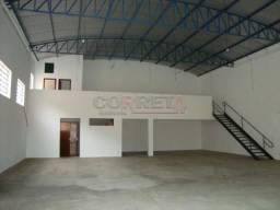 Loja comercial para alugar em Sao joaquim, Aracatuba cod:L0425