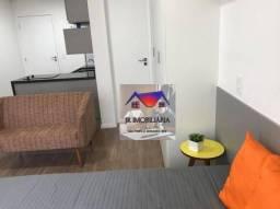 Apartamento com 1 dormitório para alugar, 26 m² por R$ 1.600,00/mês - Bethaville I - Barue