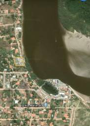 Terreno em barra de Santo Antônio beira mar , beira rio