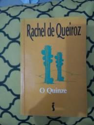 O Quinze ( Autora:Rachel de Queiroz).Usado bom estado