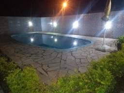 Troco casa com piscina Praia de Leste por Outra Enseada sc