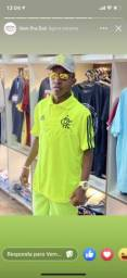 Blusa gola polo do Flamengo