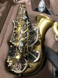 Sax Soprano Curvo profissional Jahnke